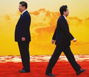 적극적인 몸싸움 '중국의 속마음'