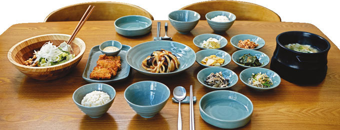 식구들과 함께 밥상 행복 느끼십니까?