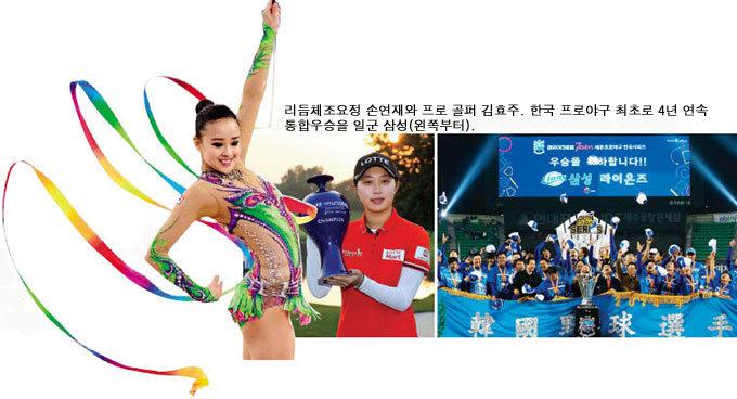 이상화·손연재 金 '환호성' 축구팀 월드컵 졸전엔 '탄식'