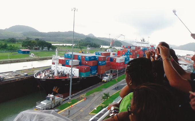 니카라과 VS 파나마 운하전쟁