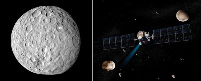 NASA 우주탐사선, 태양계 탄생 비밀 밝힐까