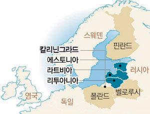 발트 3국에 드리운 크림반도의 그림자