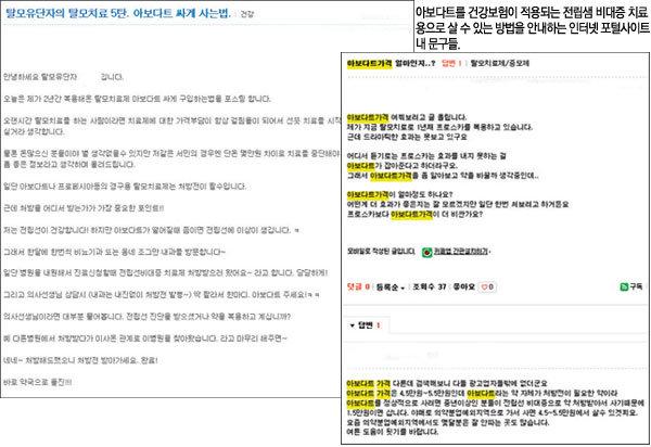 탈모 치료제 시장 '수상한' 지각 변동