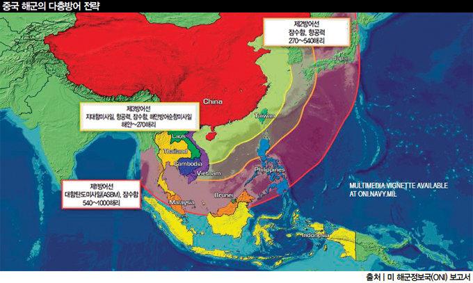 20세기 미국 흉내 내는 21세기 중국 해군력