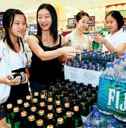 음료시장 탄산수 돌풍의 진실