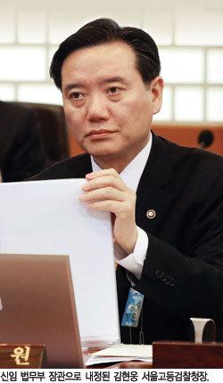 호남 법무장관 내정은 총선용?