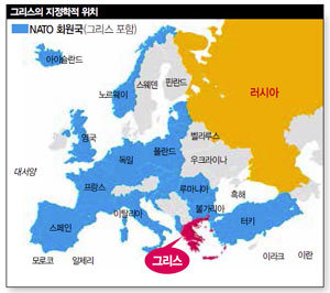 그리스 위기 반색, 러·중의 야심