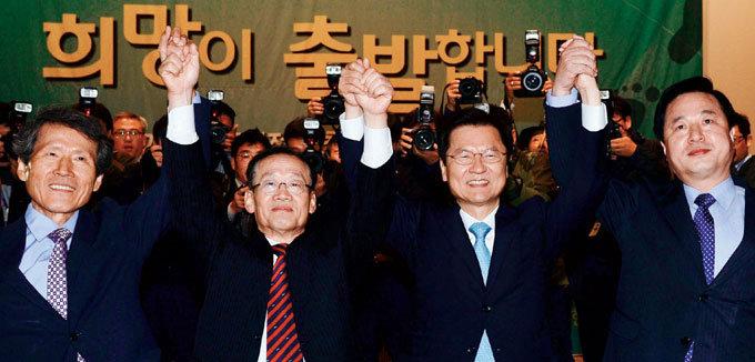 文-安-朴 연대 총선 패배 책임 분산용?