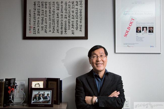 카네기홀에 선 '흙수저' 국회의원 김장실
