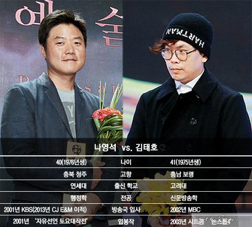 삼시세끼 나영석 vs. 무한도전 김태호