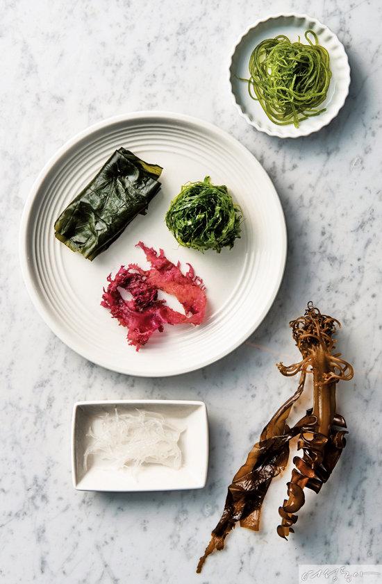 겨울철 장 디톡스를 위한 해초 요리