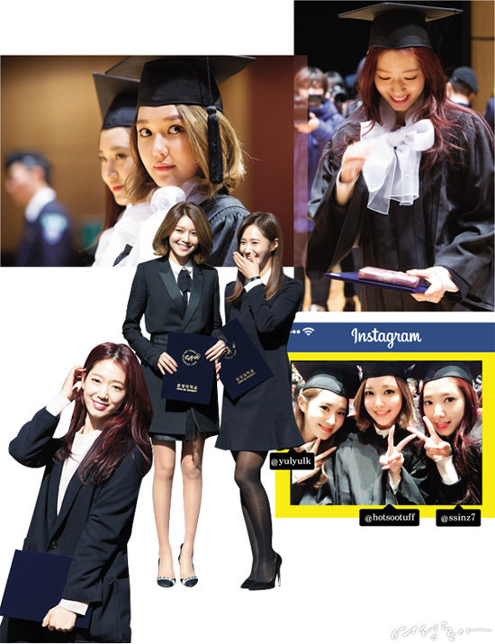 박신혜·수영·유리 여신들이 졸업하는 날