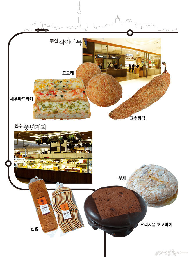 축! 서울 입성, 지역 맛집 8