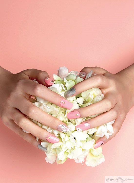 Spring Gel Nail by Yourself