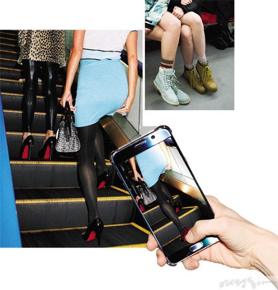 지하철 몰카, 전신 찍으면 무죄?