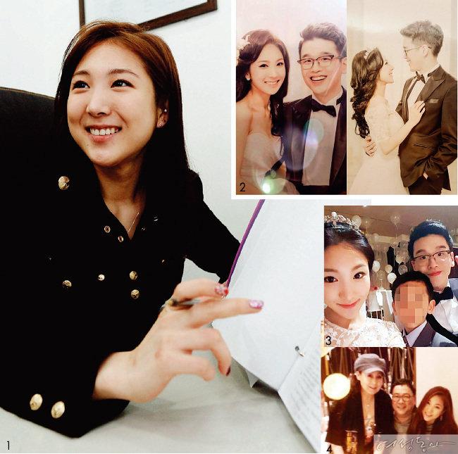 최초  사진 공개 CJ 이재현 회장 외아들, '코리아나' 멤버 이용규 씨 딸과 결혼