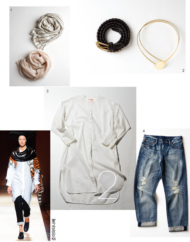 The power styling WHITE SHIRT 4