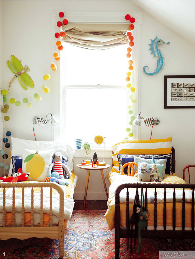 여섯 아이 키운 '디자인 맘'의 집
