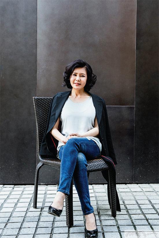 연극배우 김지숙