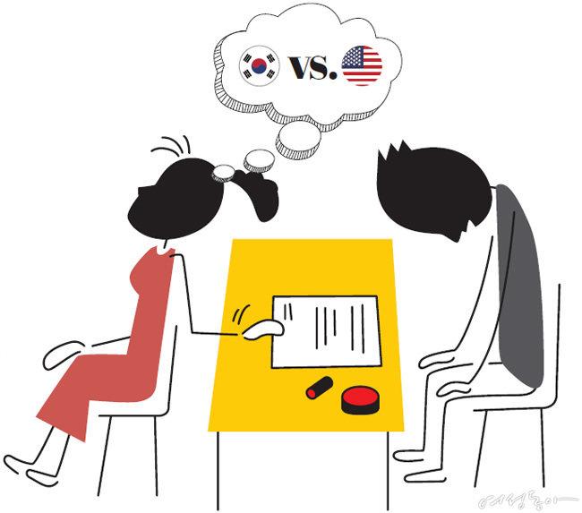 한국과 미국, 어디서 이혼하는 것이  유리할까?