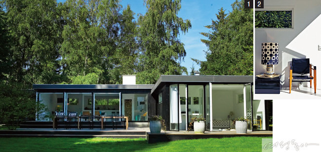 북유럽 모델 하우스 구경가기