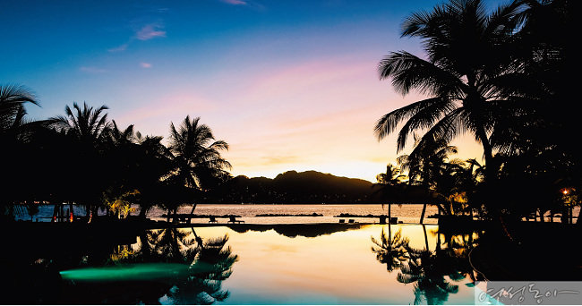 낙원에 조금 더 가까이, 세계 최고의 열대 휴양지