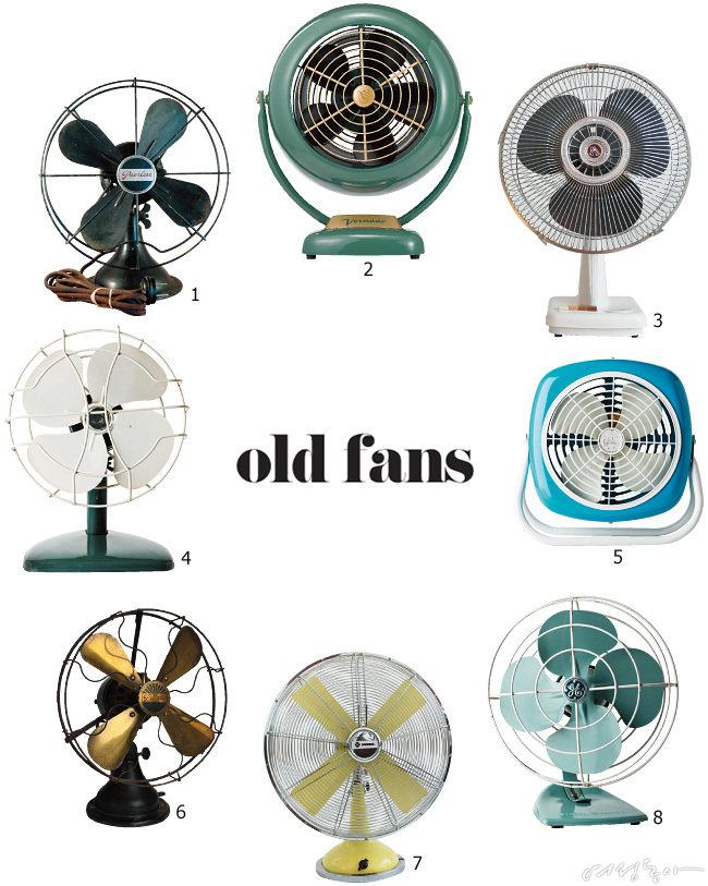 옛날 영화처럼! old  fans