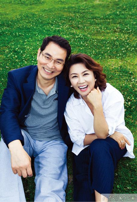 〈불타는 청춘〉 현실로 이룬 배우 김혜선·이차용 부부