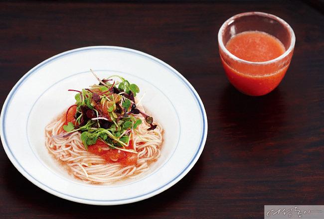 여름 채소, 토마토 레시피