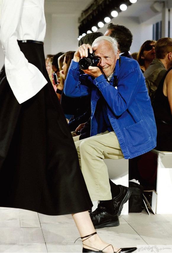 전설적인 스트리트 패션 사진작가  빌 커닝햄