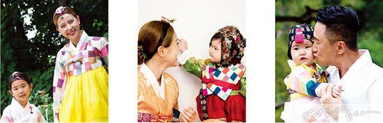 주영훈·이윤미  가족
