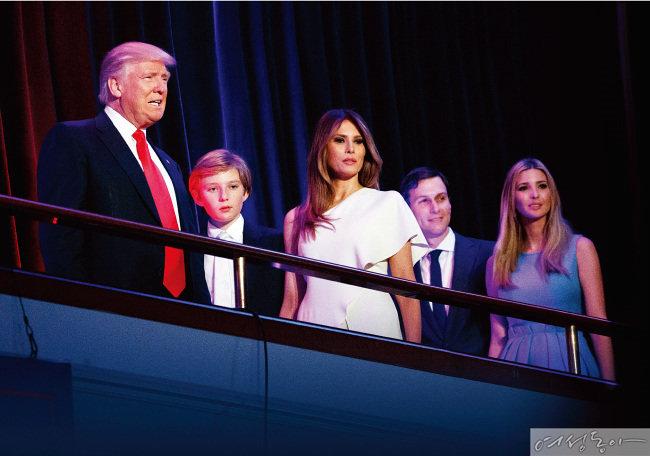 트럼프 대통령 시대, 공약보다 주목받은 Trump