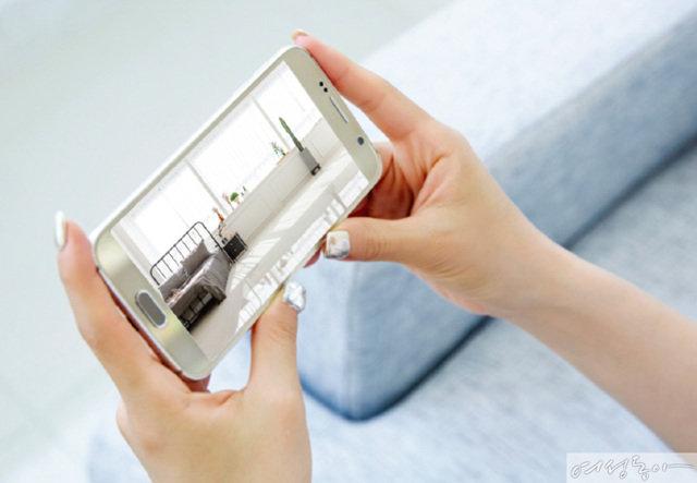 한화테크윈 와이즈넷 홈카메라