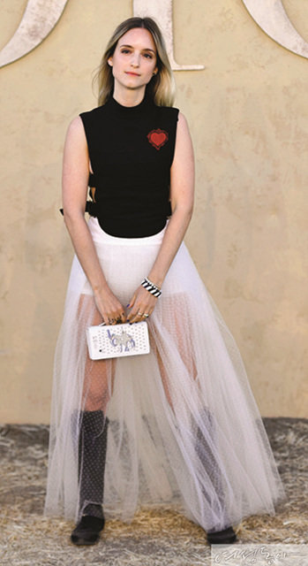 Dress code :  White