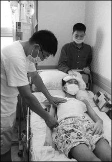 골수이식 수술해야 하지만 수술비가 없어 막막한 전성렬군 사연