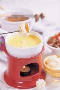 치즈 퐁듀 & 퐁듀 부르기뇽