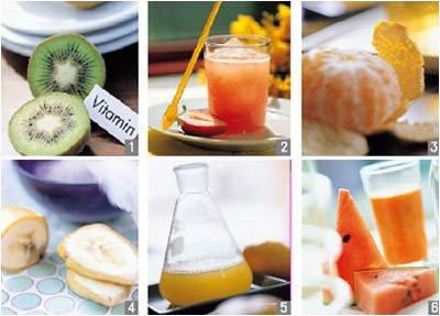한겨울에 더 좋은 비타민 과즙 다이어트
