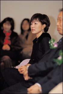 한국일보문학상 수상해 미국에서 일시 귀국한 소설가 은희경