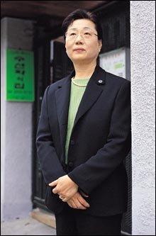 여성 홈리스를 위한 안식처 운영하는  김기혜 소장