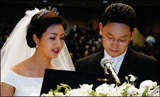 예비 법조인 곽상언씨와 결혼한 노무현 대통령 딸 정연씨
