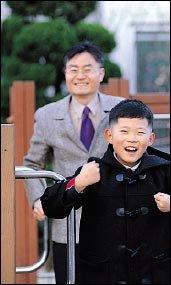 아들과 함께 미국 초등학교 체험한 심양섭씨의 조기유학기