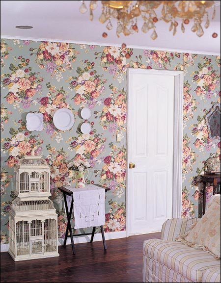 Flower Print Decoration