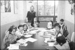 영어 학습지 vs 영어 학원
