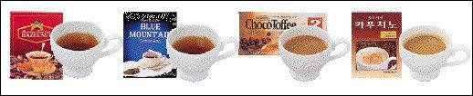 다양한 커피믹스 맛 품평기