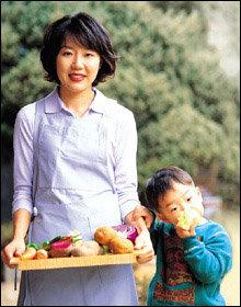 박정은 주부의 자연주의 육아법&식단 대공개