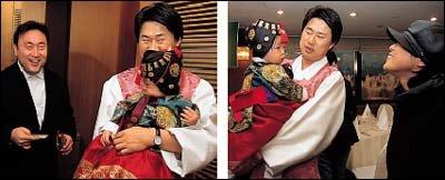 첫딸 보령의 돌잔치 치른 개그맨 남희석·이경민 부부의 육아법
