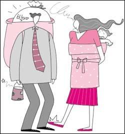 점괘에만 의존하는 아내, 대박만 꿈꾸는 남편