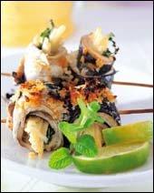뼈째 먹는 생선 요리