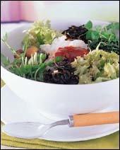 햇볕에 바싹 말린 야채&버섯 요리