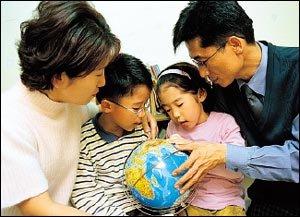 해남 땅끝마을에서 임진각까지 국토종단한 김광용씨 가족